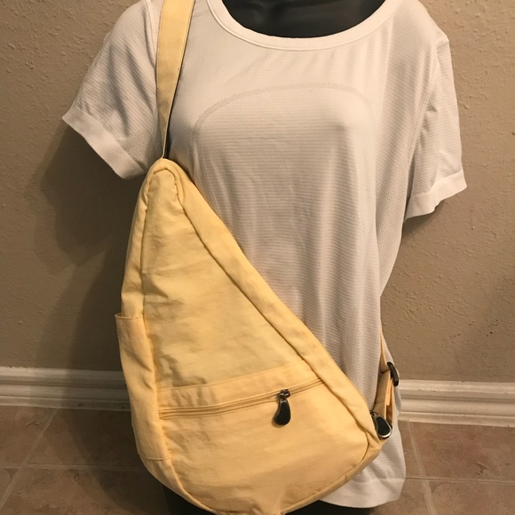 Ameribag Handbags - The Healthy Back Bag Pale Yellow Ameribag 13e3f354a79c3